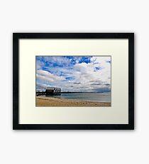 Busselton Jetty  Framed Print