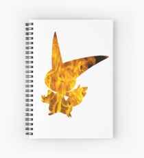 Victini used overheat Spiral Notebook