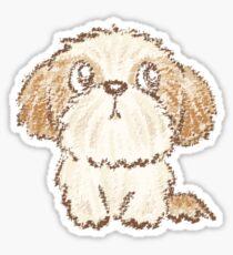 Shih Tzu puppy Sticker