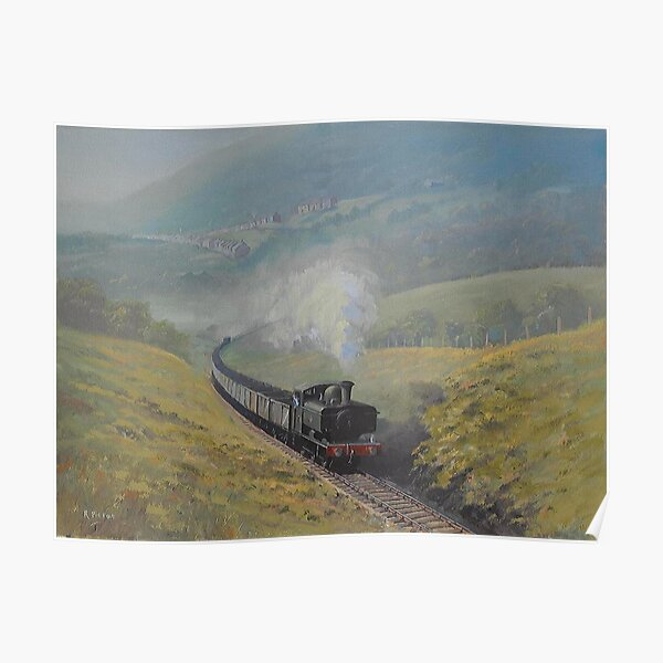 The Neath and Brecon Railway Poster