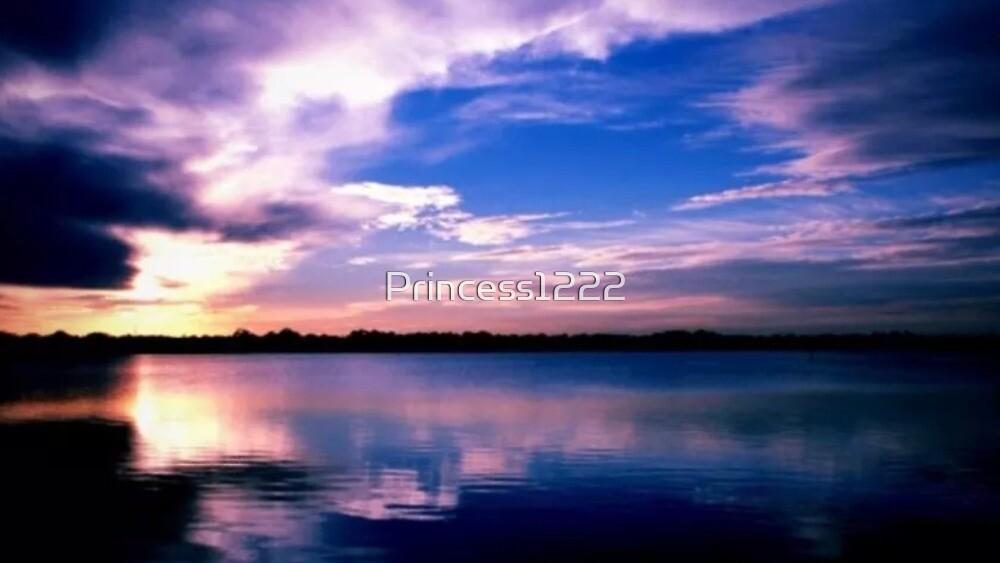 My Beautiful Blueberry Sunset by Princess1222