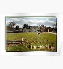 Sturbridge Village Poster