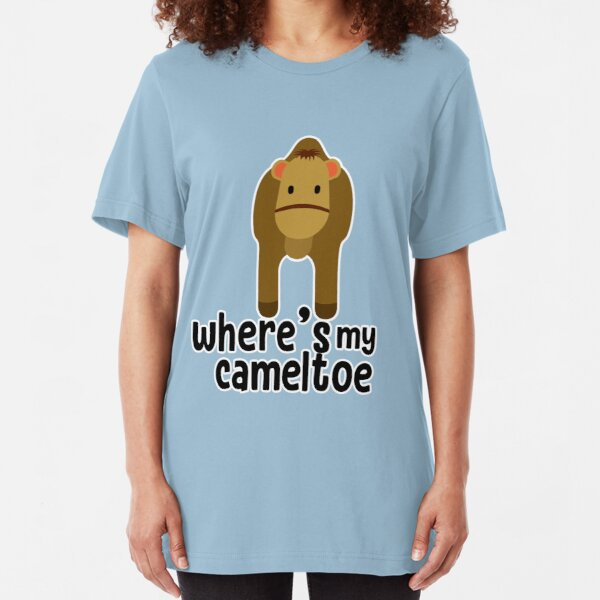 Where's My Cameltoe Slim Fit T-Shirt