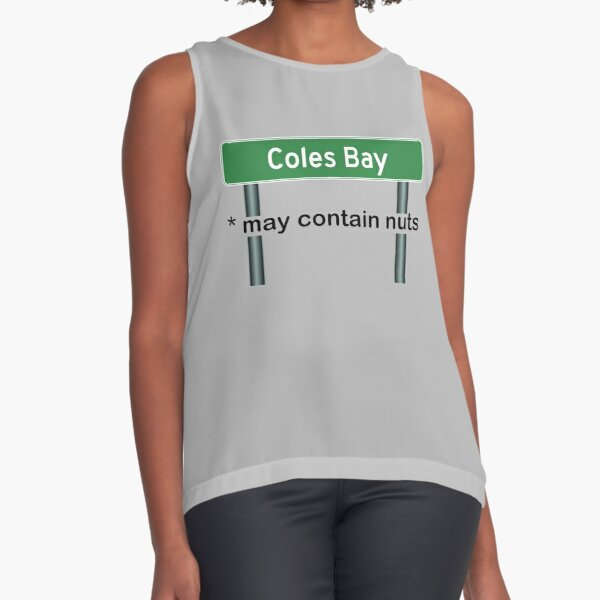 Coles Bay May Contain Nuts Sleeveless Top