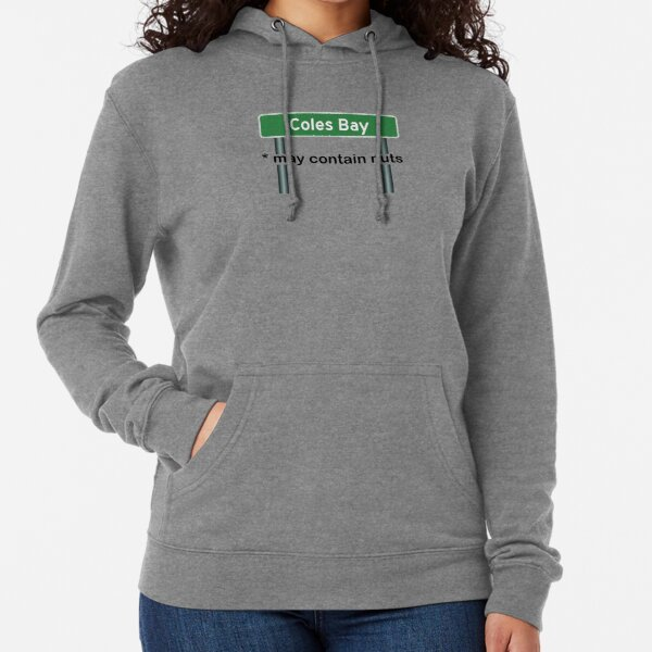 Coles Bay May Contain Nuts Lightweight Hoodie