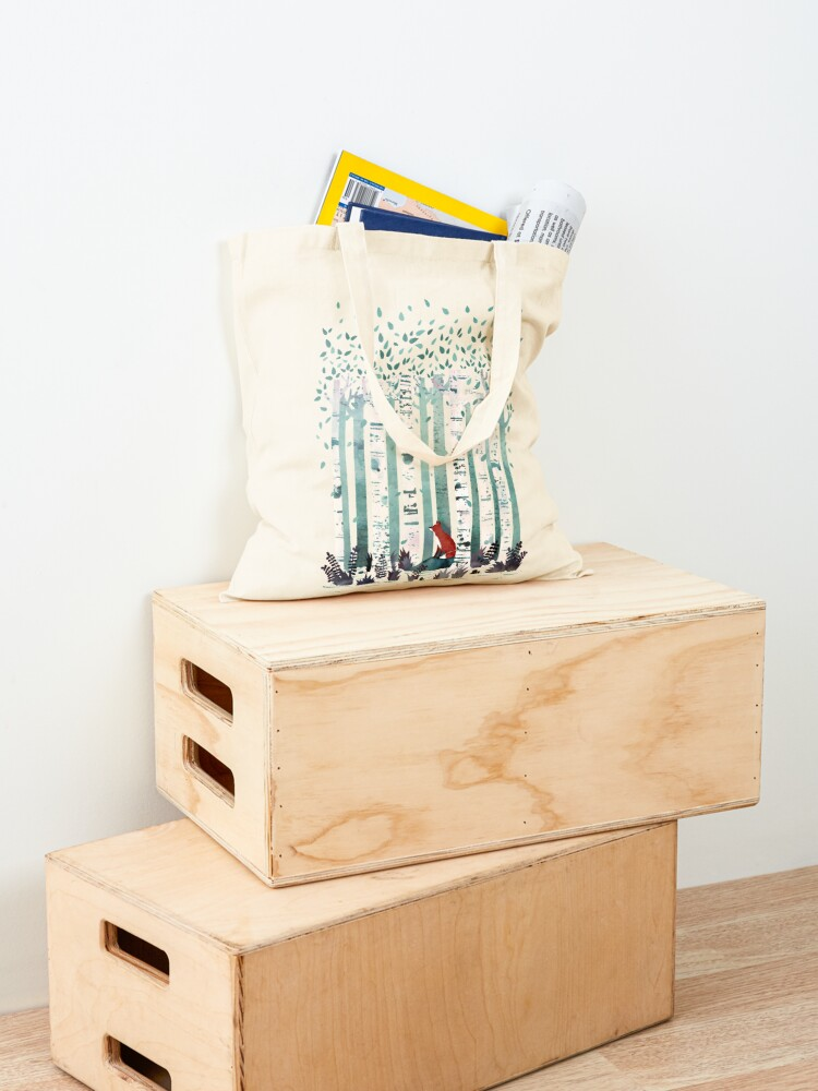 Alternate view of The Birches Tote Bag