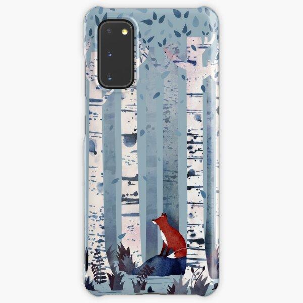 The Birches (in Blue) Samsung Galaxy Snap Case