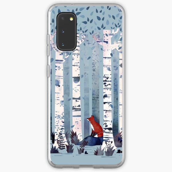 The Birches (in Blue) Samsung Galaxy Soft Case