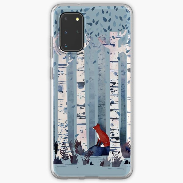 The Birches (in Blue) Samsung Galaxy Soft Case