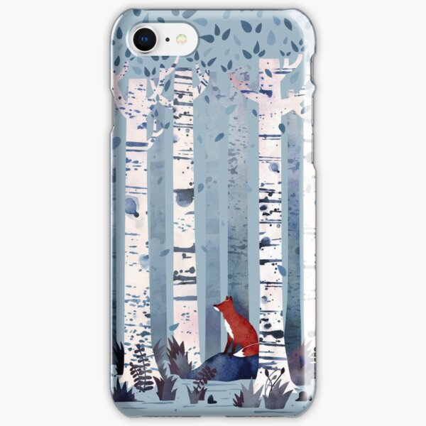 The Birches (in Blue) iPhone Snap Case