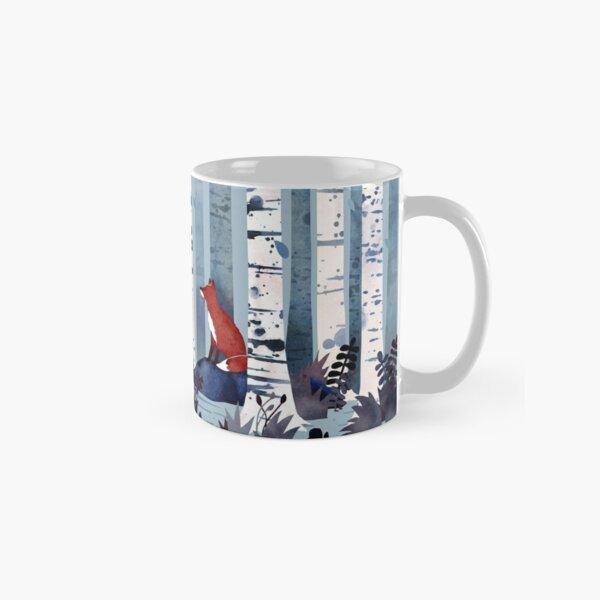The Birches (in Blue) Classic Mug