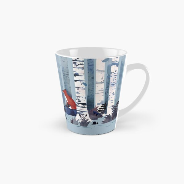 The Birches (in Blue) Tall Mug