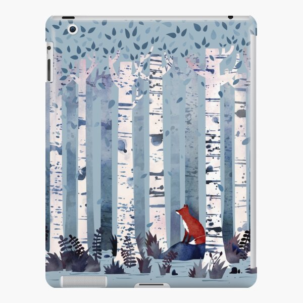 The Birches (in Blue) iPad Snap Case