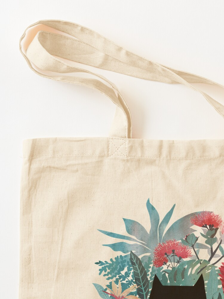 Alternate view of Popoki Tote Bag