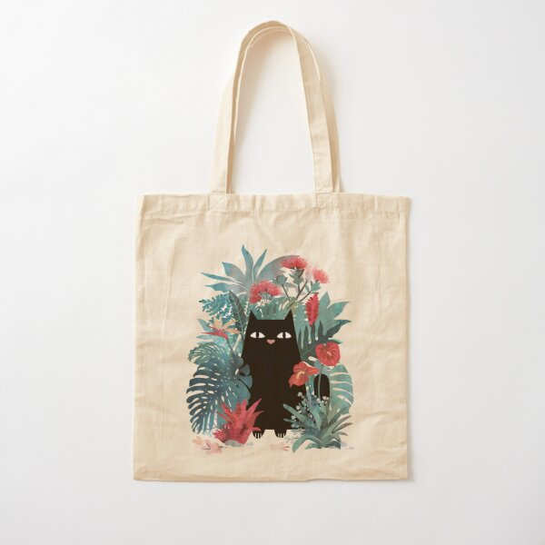 Popoki Cotton Tote Bag