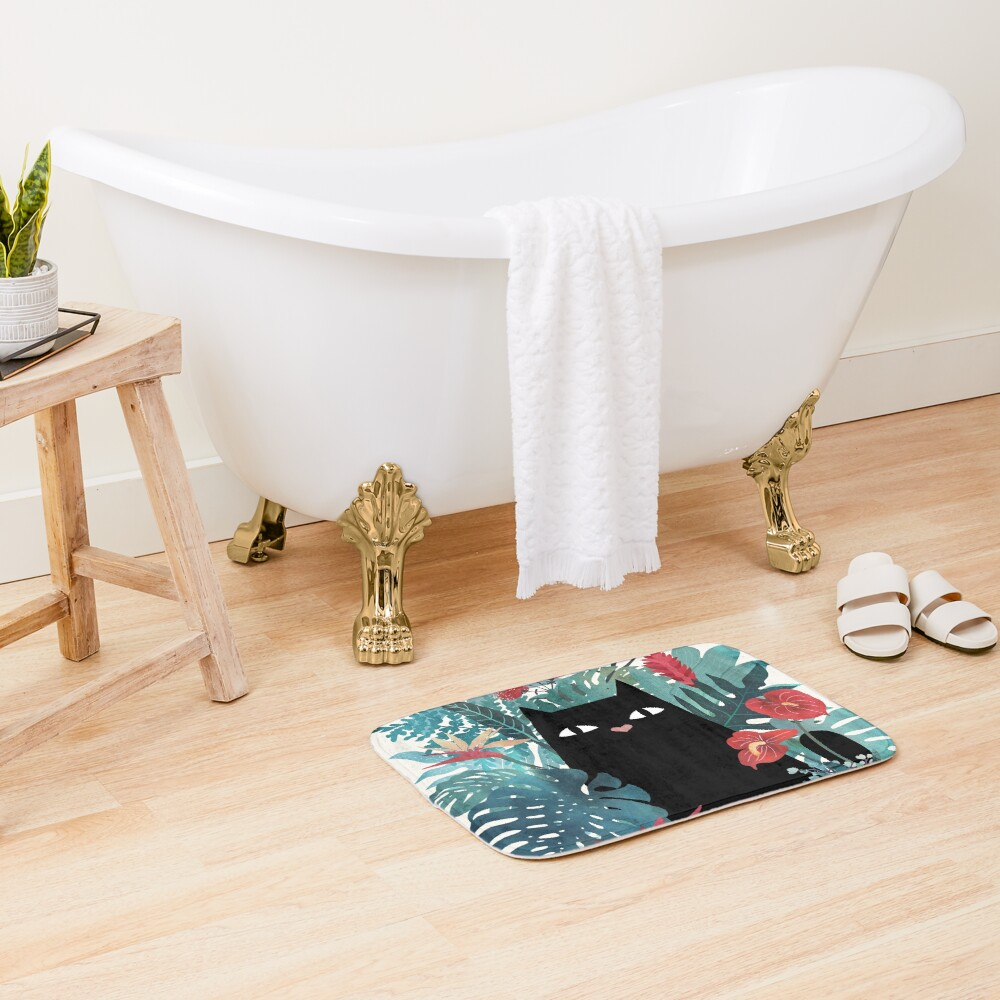 Popoki Bath Mat