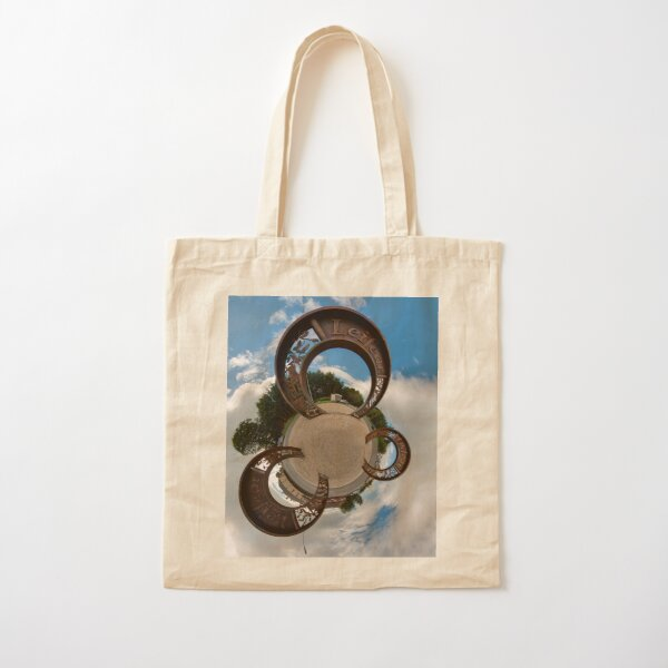 Lifford Coins, County Donegal Cotton Tote Bag