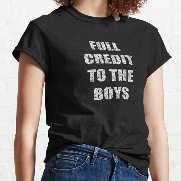 Rugby - Volle Anerkennung für die Jungs Classic T-Shirt