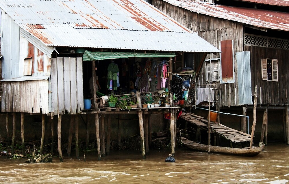 Living on the Mekong by Jordan Miscamble