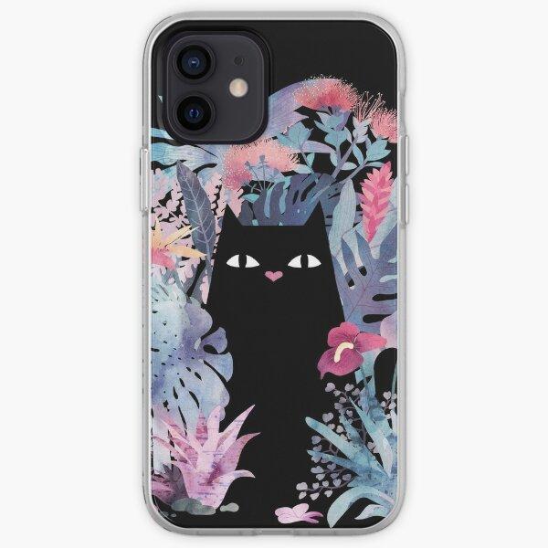Popoki (Pastel Black Velvet) iPhone Soft Case