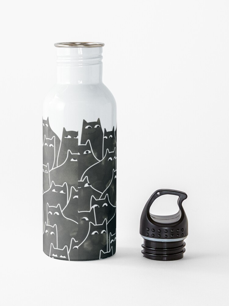 Alternate view of Suspicious Cats Water Bottle
