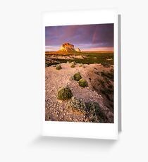 Pawnee Buttes Sunset Greeting Card
