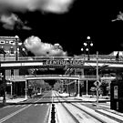 Ghost Town Ybor City Revisited  B/W by MKWhite