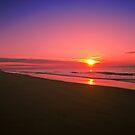 Golden Beach Sunrise by James Cole