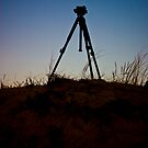 Tripod on the Dune by James Cole