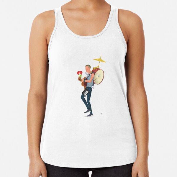 Un cielo lleno de estrellas Camiseta con espalda nadadora