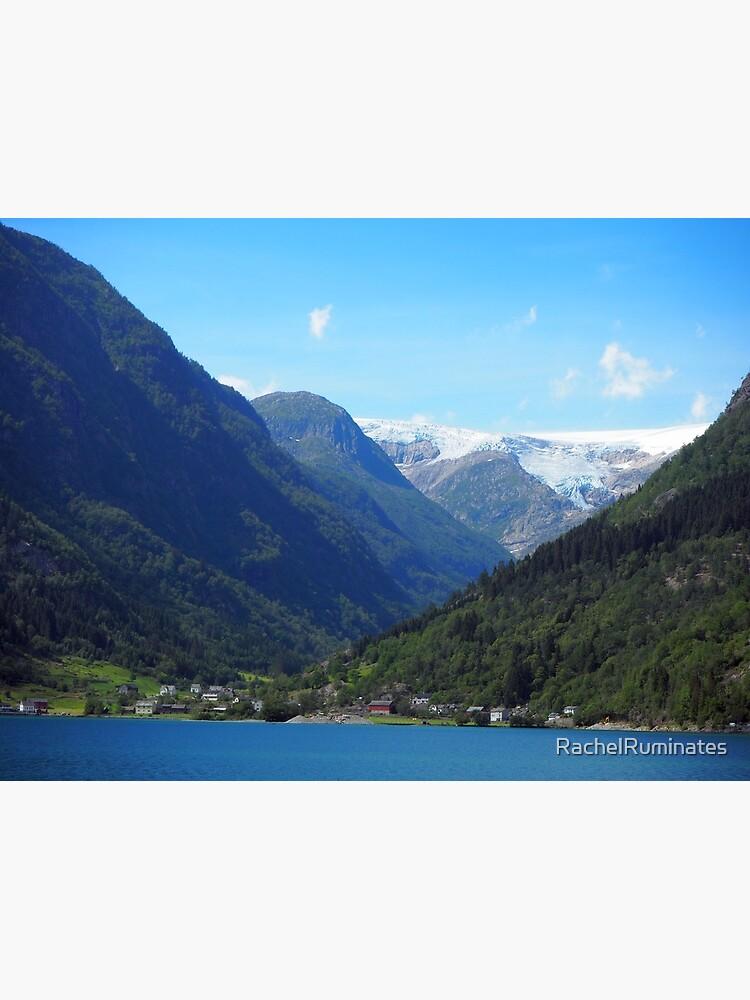 lake, mountain, glacier: Norway by RachelRuminates