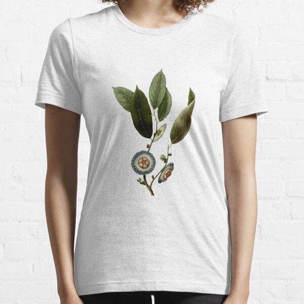 Nostalgic Flower Illustration Essential T-Shirt