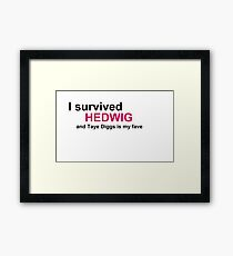 I Survived Hedwig (TD) Framed Print