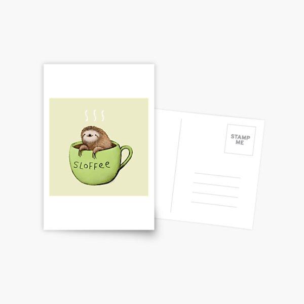 Sloffee Postkarte