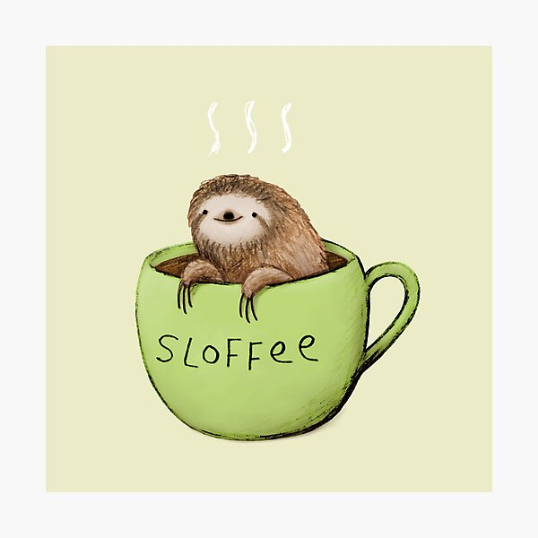 Sloffee Photographic Print