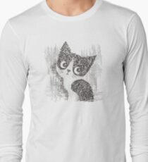 Portrait of a kitten Long Sleeve T-Shirt