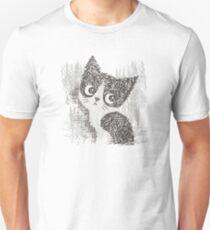 Portrait of a kitten T-Shirt