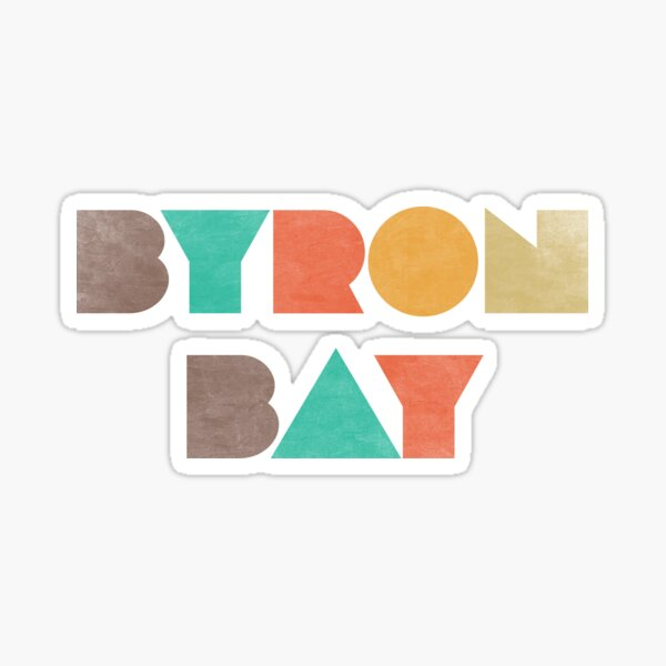 Byron Bay Vintage Sticker
