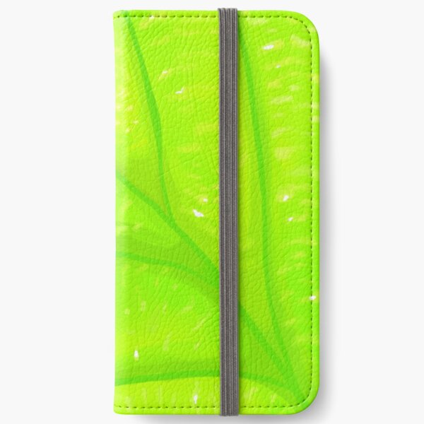 A Vibrant Leaf iPhone Wallet