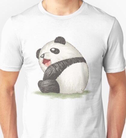 Happy panda sitting T-Shirt