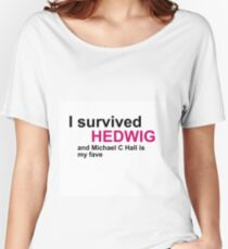 I survived hedwig (mch) Women's Relaxed Fit T-Shirt