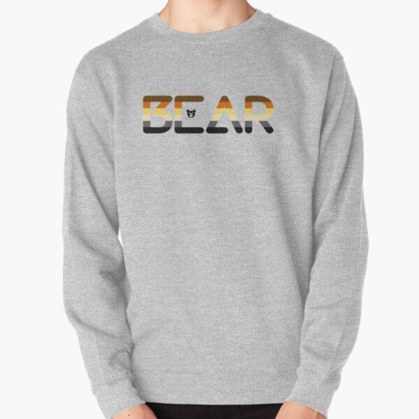 Bears the word Pullover Sweatshirt