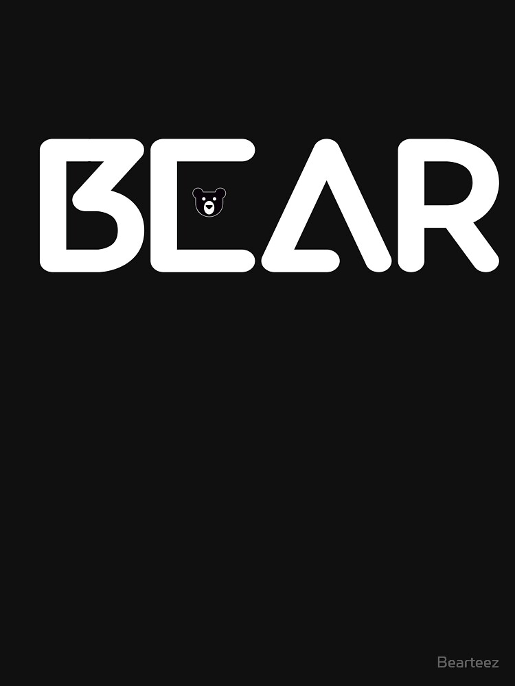 Bears the word (white text) by Bearteez