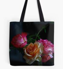 Tranquility- Roses still life Tote Bag