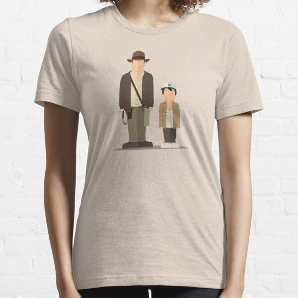 Indy and Shortround - Temple of Doom Essential T-Shirt