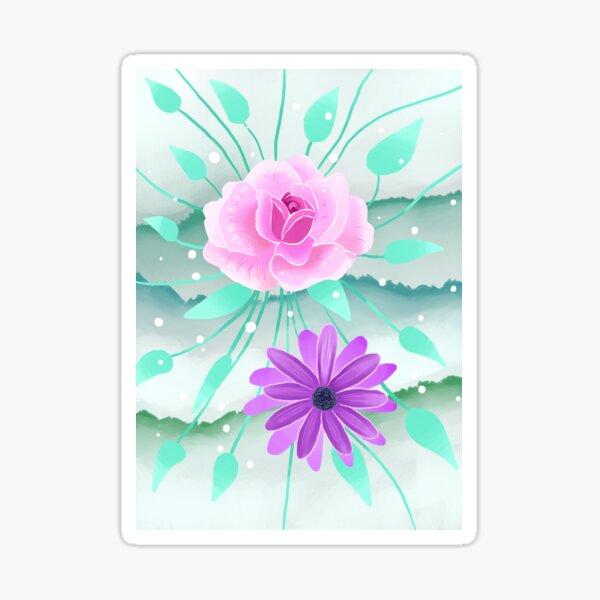 Gentle Flowers Sticker