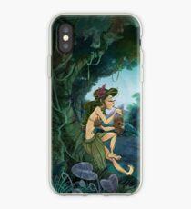 Hula Tiki Break Time iPhone Case