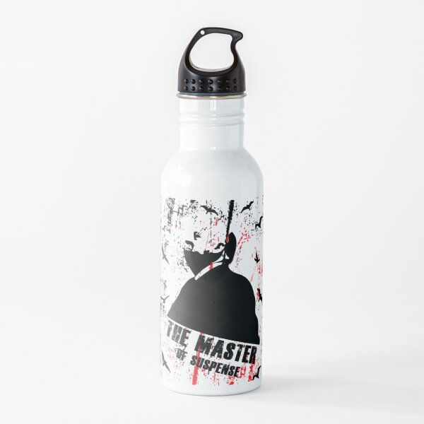 The Master of Suspense Water Bottle