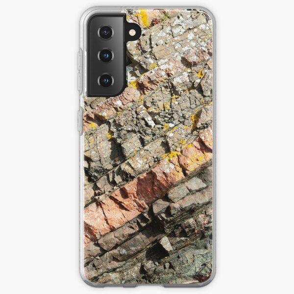A slice of geology Samsung Galaxy Soft Case
