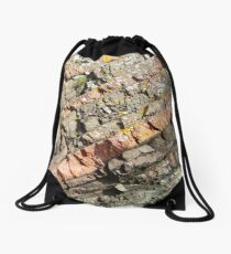A slice of geology Drawstring Bag